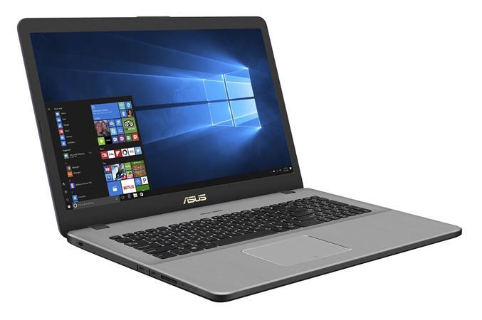 """ASUS N705FN-GC017T i7-8565U/16GB/2TB 5400ot.+256GB SSD/MX150/17,3"""" FHD, IPS/Win10/šedý"""
