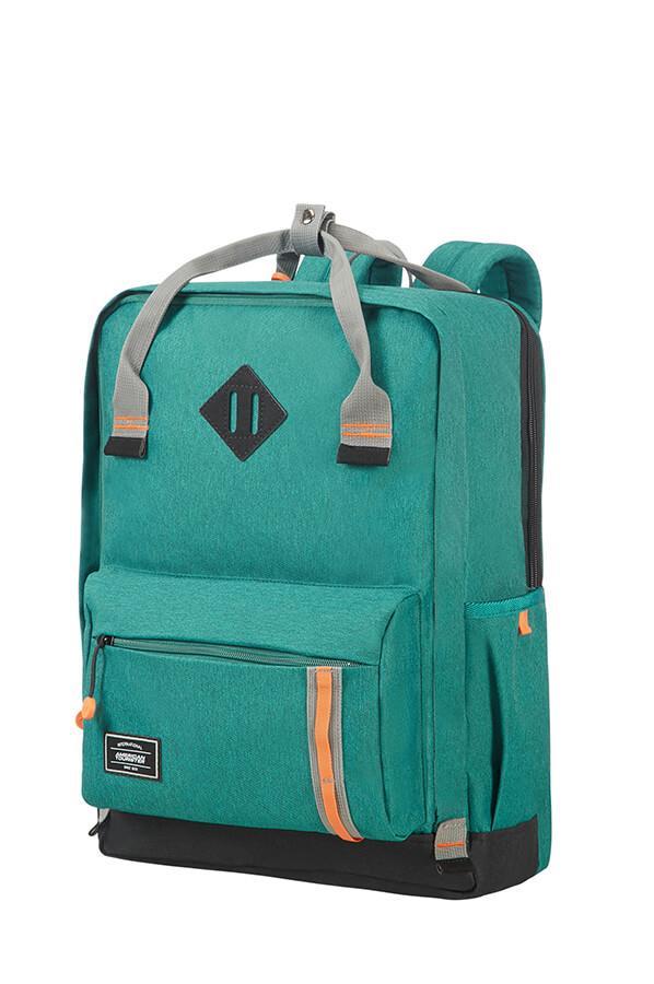 SAMSONITE 24G-04-026 Backpack American T. 24G04026 UG5 17.3 comp, docu, pockets, green