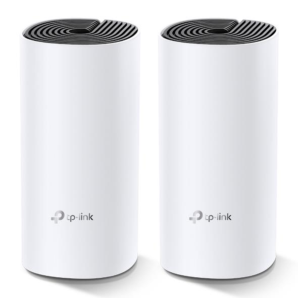 TP-Link Deco M4 AC1200 whole home Mesh WiFi system, MU-MIMO, 2-pack, 2ant