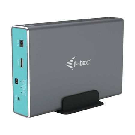"""i-tec MYSAFE USB-A/C 2x 2.5"""" HDD/SSD SATA with RAID"""