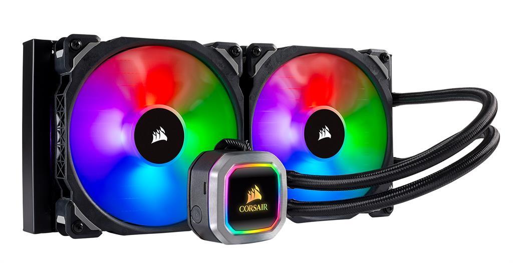 Corsair Hydro Series H115i RGB PLATINUM CPU Cooler, 320mm x 140mm x 30mm