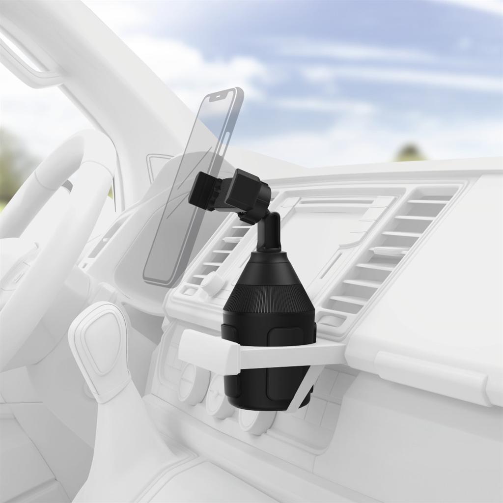 Hama držák mobilu do vozidla, uchycení v držáku na nápoj, pro zařízení s šířkou 6-8 cm