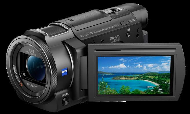 SONY FDR-AX33 videokamera Handycam® 4K se snímačem CMOS Exmor R™