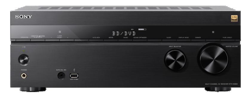 Sony receiver STR-DN860,4K,3D,7.2k, 165Wx7
