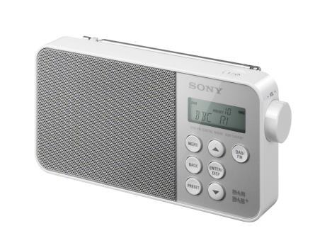 SONY XDR-S40DBP Přenosné digitální rádio DAB/DAB+ White