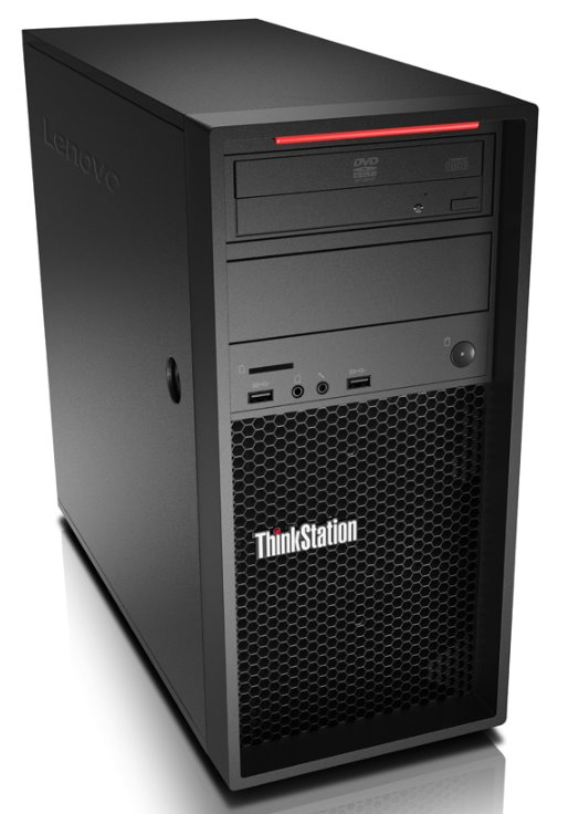 Lenovo ThinkStation P520c W-2125/16GB/256GB SSD+1TB HDD/P2000 5GB/DVD-RW/Tower 500W/Win10PRO