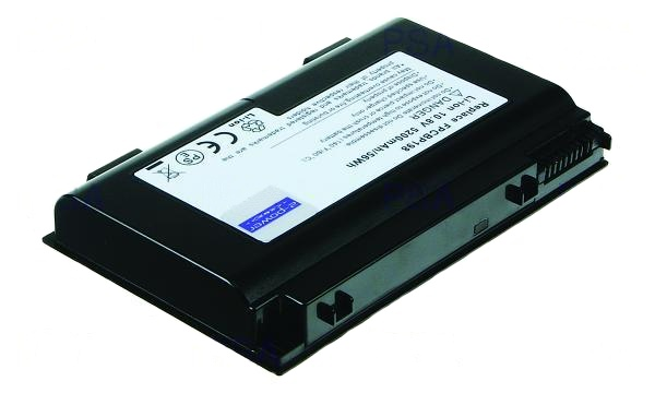 2-Power baterie pro FUJITSU SIEMENS LifeBookA1220/A6210/AG550 Li-ion (6cell), 10.8V, 5200mAh