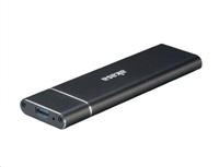 AKASA externí box pro M.2 (NGFF) SSD, USB 3.1 Gen 2 Superspeed+ (Supports 2230, 2242, 2260 & 2280), 10Gb/s, hliníkový