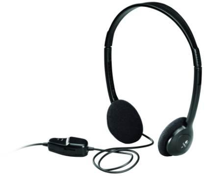 sluchátka Logitech Dialog-220 stereo, Black