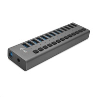 iTec USB 3.0 nabíjecí HUB 13port + Power Adapter 60 W