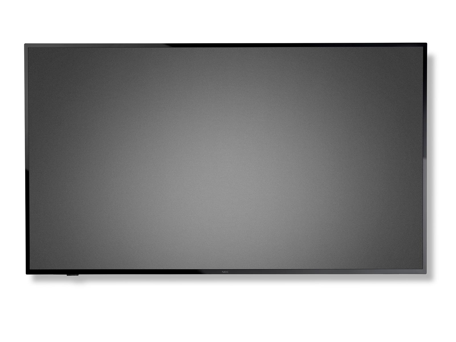 "NEC LFD 43"" MuSyE437Q VA LED podsvit,3840x2160,4000:1,350cd,8ms,VGA,3 x HDMI,SPDIF,RS-232C audio 2x5W,16/7, bez stojana"