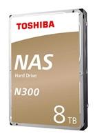 "TOSHIBA HDD N300 NAS 8TB, SATA III, 7200 rpm, 128MB cache, 3,5"", BULK"