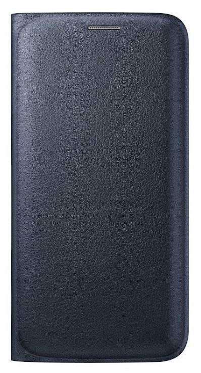 Samsung flipové pouzdro s kapsou EF-WG925P pro Samsung Galaxy S6 Edge (SM-G925F), černá