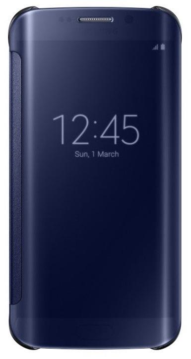 Samsung flipové pouzdro Clear View EF-ZG925B pro Samsung Galaxy S6 Edge (SM-G925F), černá