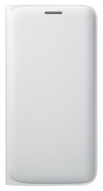 Samsung flipové pouzdro s kapsou EF-WG925P pro Samsung Galaxy S6 Edge (SM-G925F), bílá