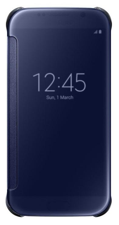 Samsung flipové pouzdro Clear View EF-ZG920B pro Samsung Galaxy S6 (SM-G920F), Černá