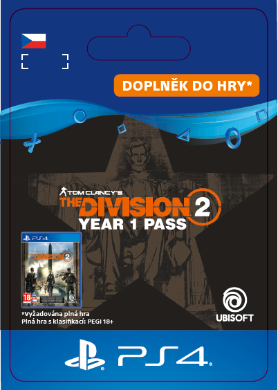 ESD CZ PS4 - TomClancy'sTheDivision® 2-Year 1 Pass