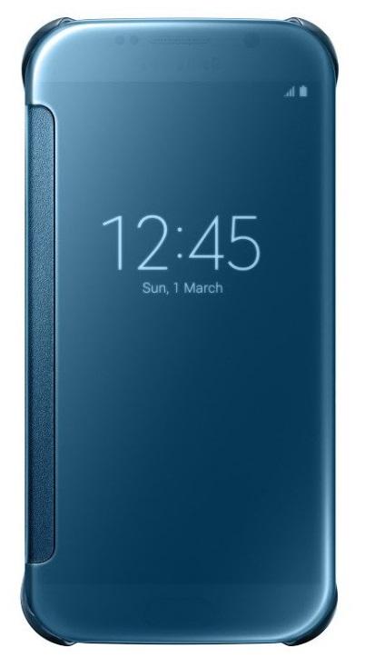 Samsung flipové pouzdro Clear View EF-ZG920B pro Samsung Galaxy S6 (SM-G920F), Modrá