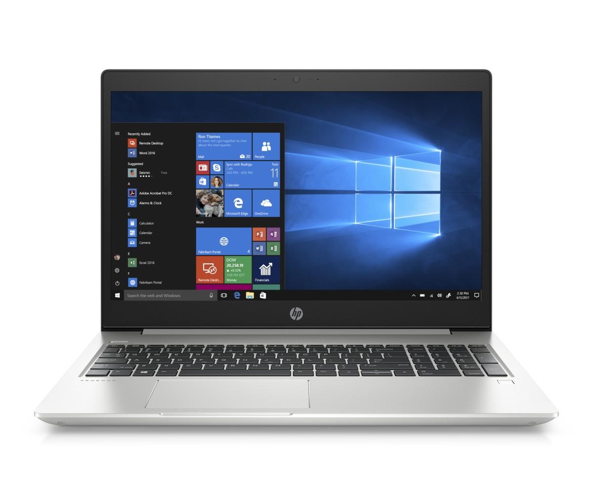 HP ProBook 455 G6 ryz7 Pro-2700U/16GB/512SSD/BT/LAN/Wifi/MCR/FPR/W10P