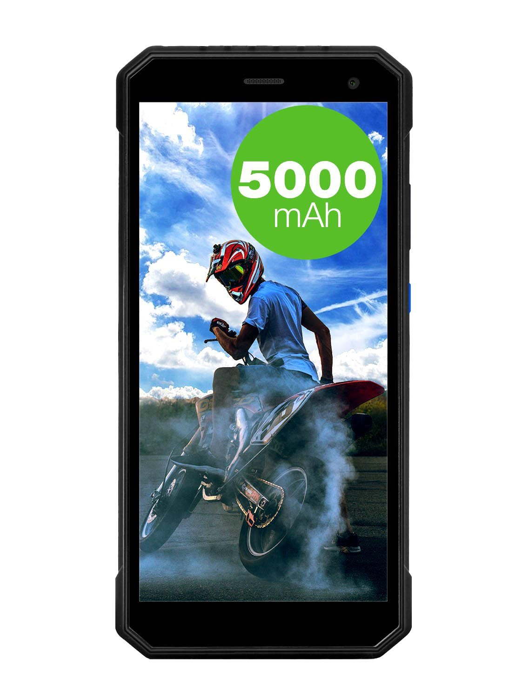 EVOLVEO StrongPhone G6, vodotěsný odolný Android Quad Core smartphone, DUAL sim
