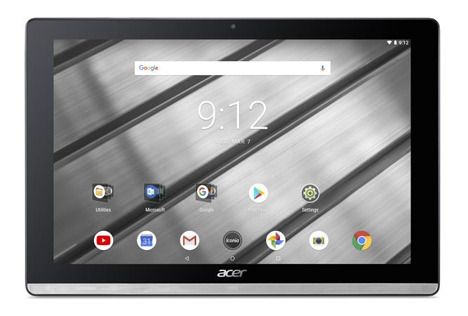 "Acer Iconia One 10 (B3-A50FHD-K9CS) MTK MT8167A quad-core Cortex A35/10"" IPS Touch FHD/2GB/eMMC 16GB/BT/Android 8.1/Silver"