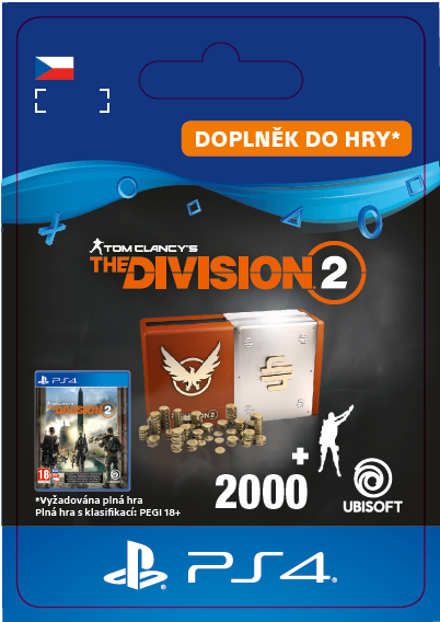 ESD CZ PS4 - Tom Clancy's The Division 2 – Welcome Pack
