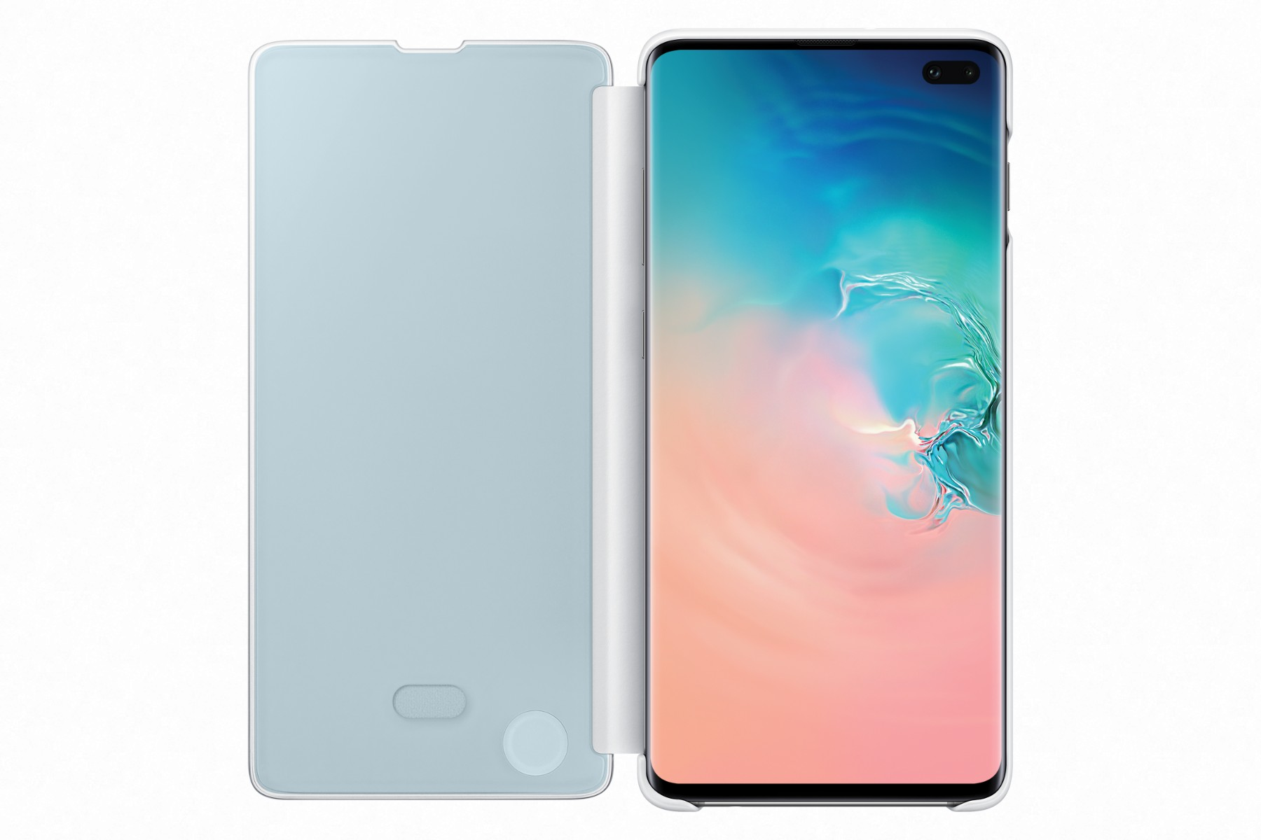 Samsung Clear View Cover S10+ White