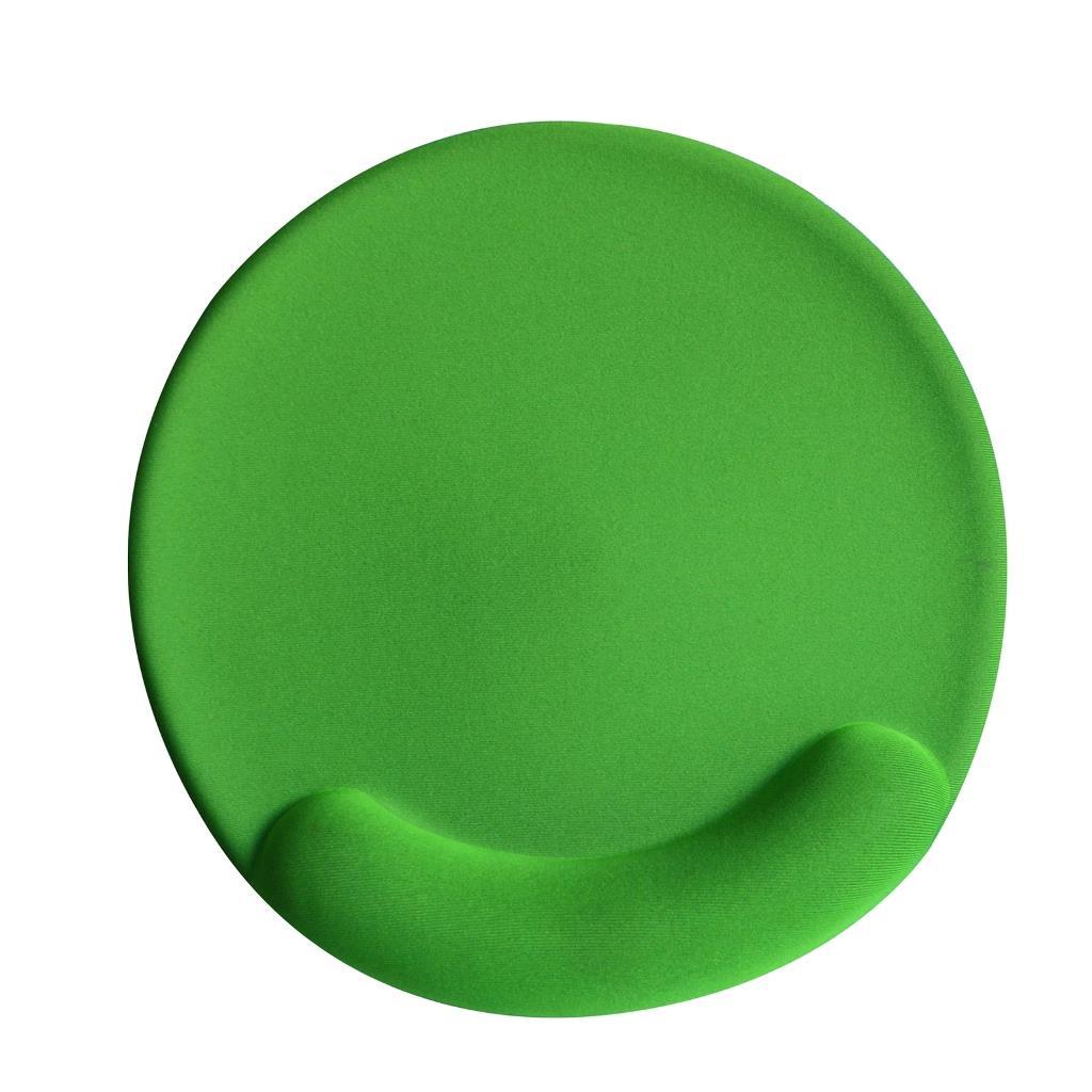VAKOSS Gel Podložka pod myš PD-423GN zelená /190 x 190 x 22 mm/