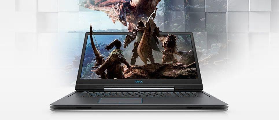 """DELL G7 17(7790)/i7-8750H/16GB/256GB SSD/17,3""""/FHD 144Hz/8GB Nvidia RTX2070/Win10 64bit/černý"""