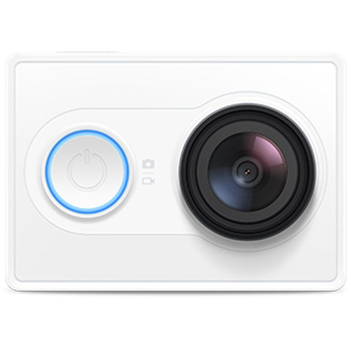 Xiaomi Yi Sports FullHD camera, 16 MPx Sony, Wifi, BT, SD slot, White