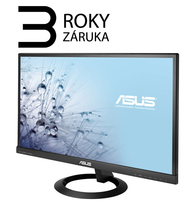 "AKCE_23"" LED ASUS VX239H - Full HD, 16:9, HDMI, VGA, repro."