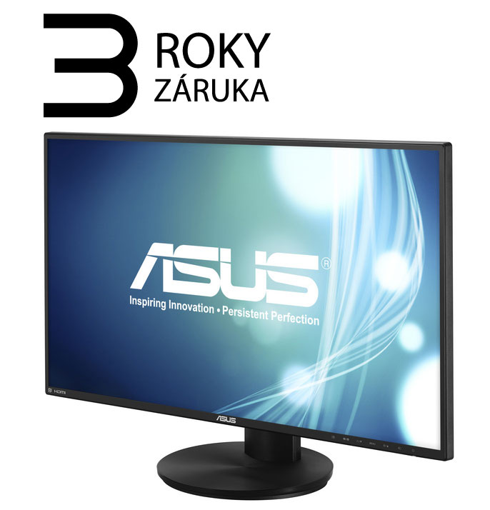 "27"" LED ASUS VN279QLB - Full HD, 16:9, HDMI, VGA, DP, repro."