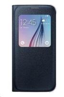 Samsung flipové pouzdro S View EF-CG920P pro Samsung Galaxy S6 (SM-G920F), černá