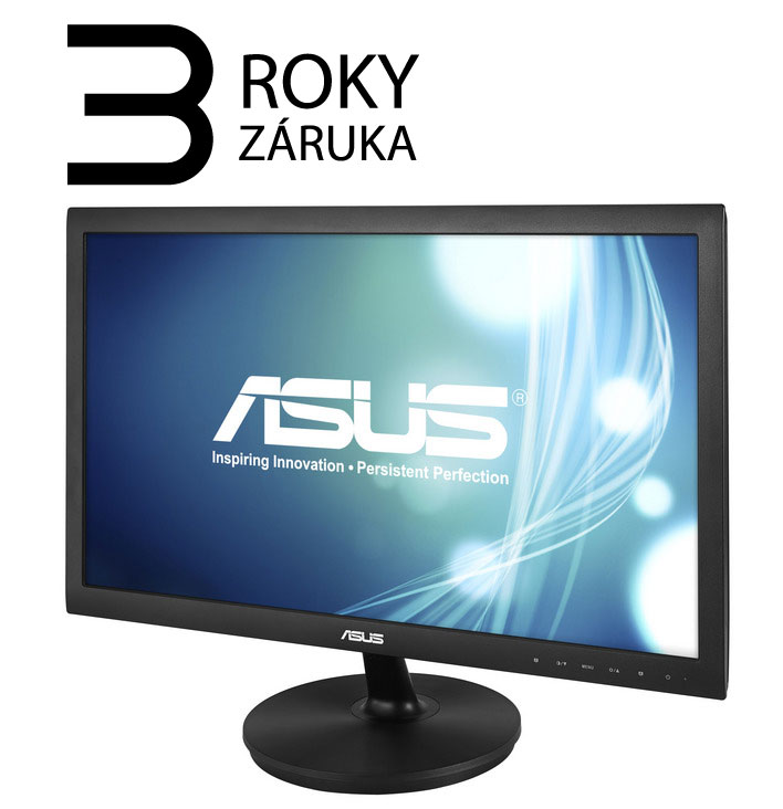 "ASUS VS228DE, 21.5""(54.6cm) 16:9, 1920x1080, 0.248mm, 200 cd, 50mil:1, 5ms, D-Sub"