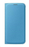 Samsung flipové pouzdro s kapsou EF-WG920B pro Samsung Galaxy S6 (SM-G920F), modrá