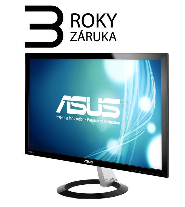 "23"" LED ASUS VX238H -1ms,Full HD,VGA,DVI,2xHDMI,re"