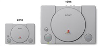 SONY PlayStation Classic - retro konzole PS ONE zmenšená s 20 předinstalovanými hrami