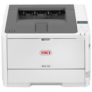 OKI B412dn CB tlaciaren A4, 33 str/min, 1200x1200, 512MB RAM, USB, NET, Duplex