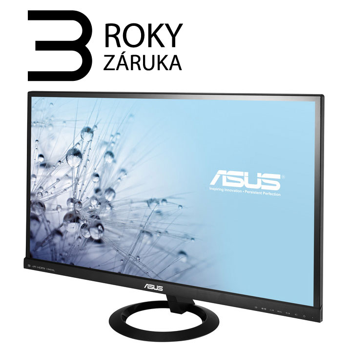 "27"" LED ASUS VX279Q - Full HD, 16:9, HDMI, VGA, DP, repro."