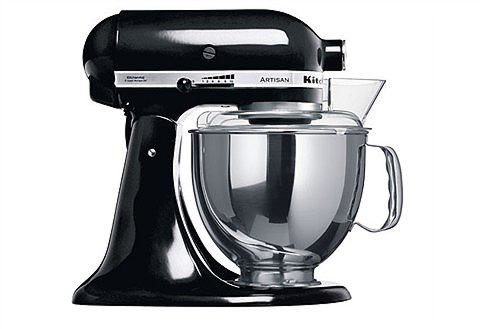 Kuchyňský robot KitchenAid 5KSM150PSEOB Artisan - černý