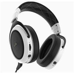 Corsair herní sluchátka bezdrátová s mikrofonem HS70 WIRELESS -White( EU)