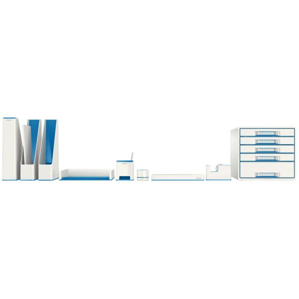 Stojánek na tužky Leitz WOW hudební, bílá/modrá