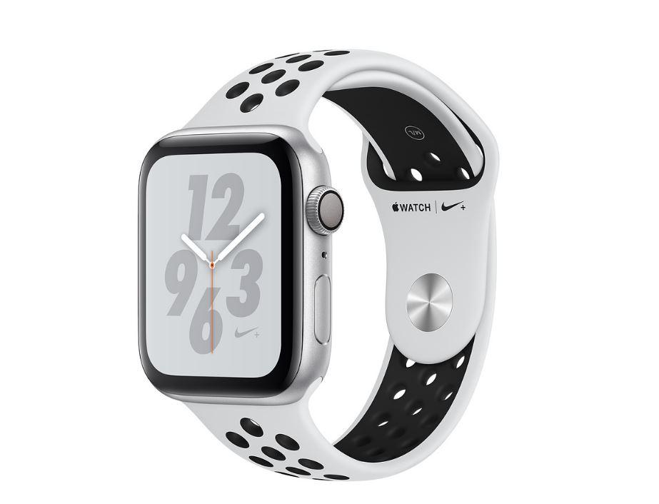 Watch Nike+, S4, 40mm, Silver/Plt+Black Nike Band