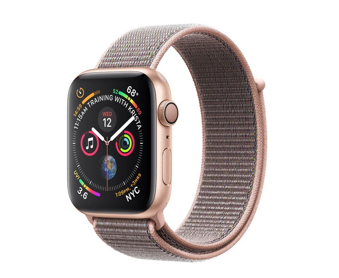 Watch S4, 40mm, Gold/Pink Sand Sport Loop