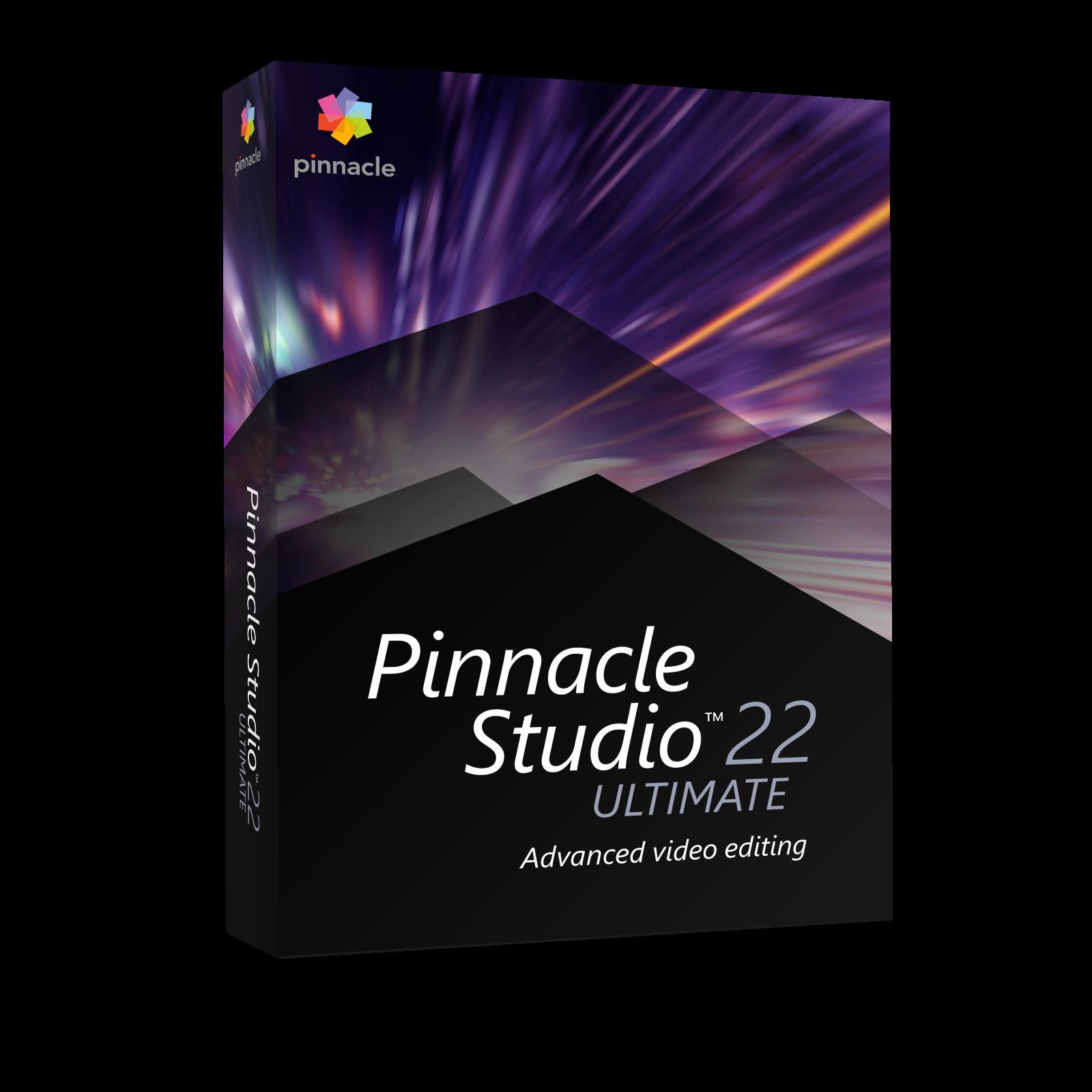 Pinnacle Studio 22 Ultimate CZ Upgrade