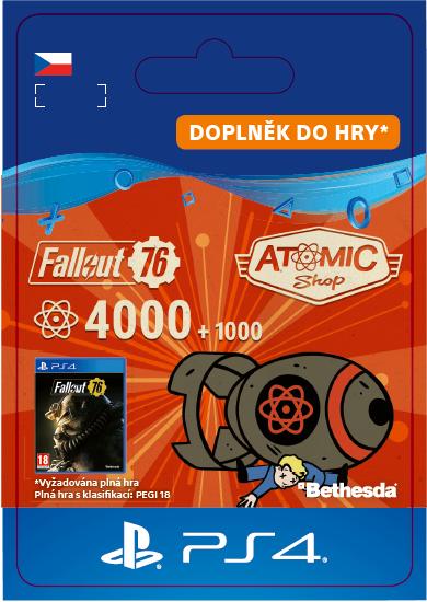 ESD CZ PS4 - Fallout 76: 4000 (+1000 Bonus) Atoms
