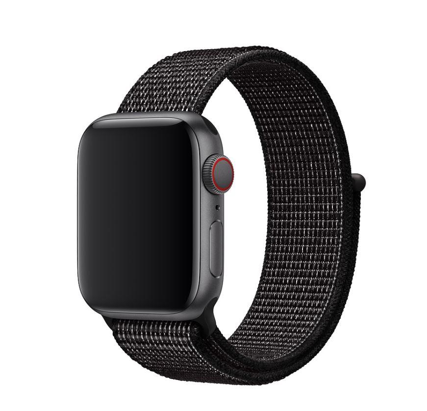Watch Acc/40/Black Nike Sport Loop