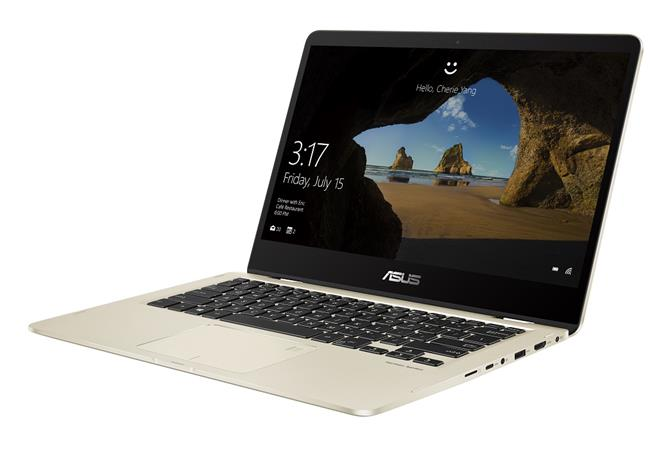 "ASUS UX461FA-E1066T i5-8265U/8GB/256GB SSD/14"" FHD,IPS/ Win10/zlatý"