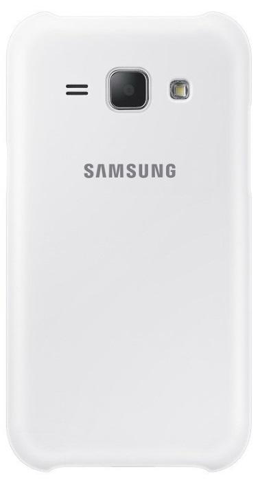 Samsung ochranný kryt EF-PJ100B pro Samsung Galaxy J1 (SM-J100), bílá