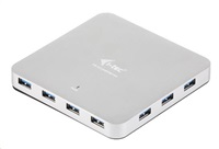 Bazar - iTec USB 3.0 Hub 10-Port Metal s napájecím adaptérem, z opravy